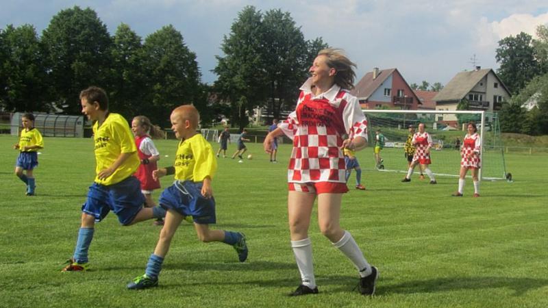 Alena Korčeková - Maminky fotbalistky