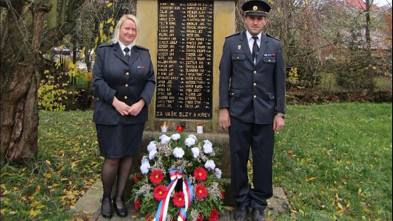 Alena Korčeková - Válečné veterány uctili i v Tiché